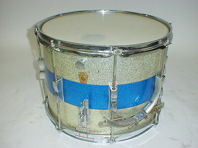 "Vintage 60's Ludwig Marching Snare Drum 1960's 14"" X 11"""