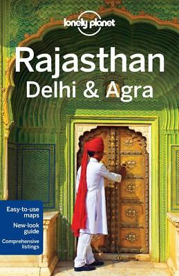 NEW Rajasthan, Delhi & Agra By Lonely Planet Travel Guide Paperback
