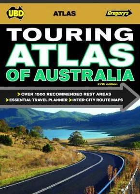 NEW Touring Atlas of Australia By UBD Gregorys Paperback Free Shipping
