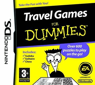 Travel Games For Dummies (Nintendo DS) - Game  K8VG The Cheap Fast Free Post