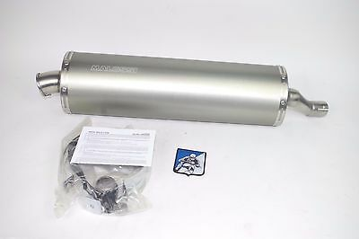 Malossi Honda Silverwing 600 FSC600 Exhaust Pipe System Stainless Alloy Muffler