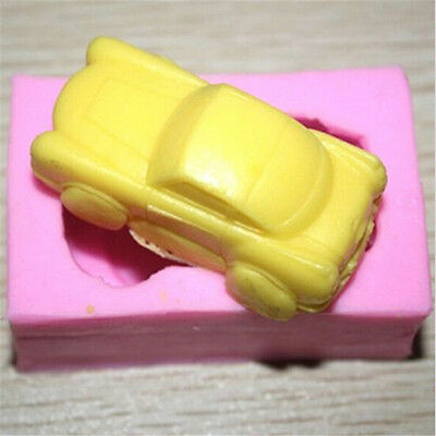 3D Car Mold Silicone Fondant Mould Cake Decorating Soap Candy Baking Mold
