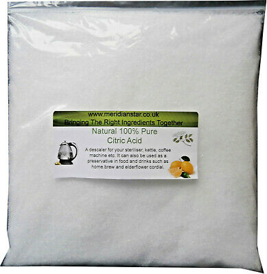 Citric Acid 1kg Descaler Sterilizers Bath Bombs