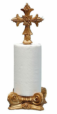 Hickory Manor House Cross Top Paper Towel Holder