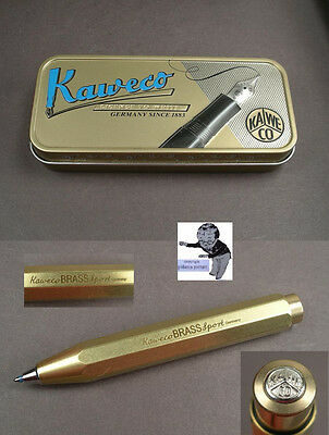 # Kaweco Brass Sport Kugelschreiber in Messing neu  #