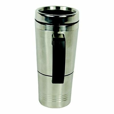 Diversion Safe-Stainless Steel Travel Mug W / Interior Compartment For Valuables