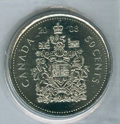 2008 Fifty Cent Half Dollar 08' Canada-Canadian BU Coin UNC RCM Mark