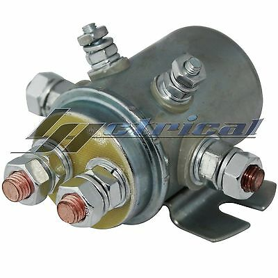 NEW Continuous Duty SWITCH RELAY SOLENOID For Marine & Golf Cart 12V 6-Terminal