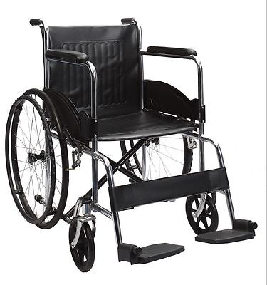 """Folding Wheelchair - 24"""" - Folding Armrests for Dining"""