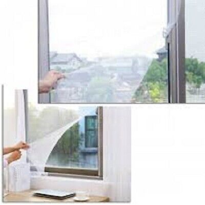Insect Bug Mosquito Fly Protection Screen Mesh Window Netting Set 1500 x 1300mm