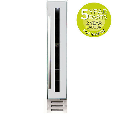 MyAppliances REF29619 15cm White & Stainless Steel Built-in Wine Cooler