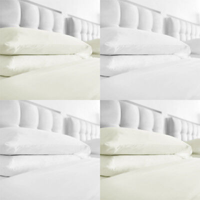 Ex-Chainstore 100% Brushed Cotton Fitted Sheet