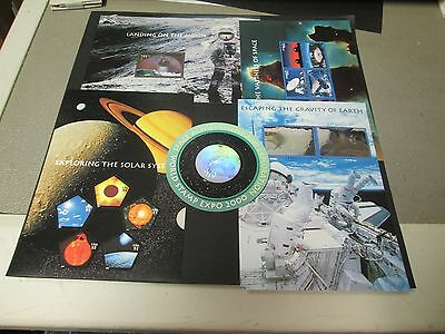 Usa 2000 Space Set Of 5 Issues Complete, Good Investment, Perfect Condition