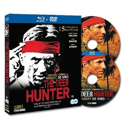 [Blu-ray+DVD] The Deer Hunter (1978) Robert De Niro 2-Disc SET *NEW