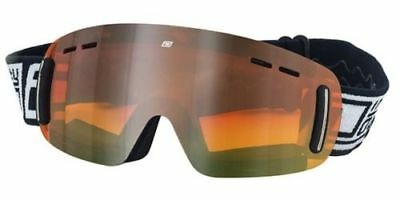 Dirty Dog Goggles Ladies Flip Frameless Adult Ski Snowboard Gold Mirror Lens