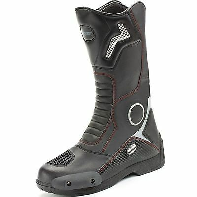 New Mens Motorcycle Racing Boots Size 11 Joe Rocket Ballistic Touring Boots