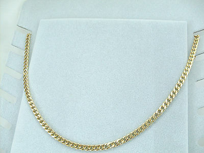 Collana Oro Unisex Uomo Donna 60 cm ,Unisex collier en or ,Unisex necklace Gold
