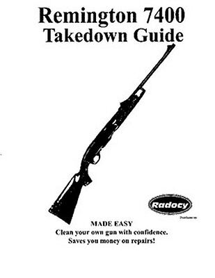 Remington model 11-48 takedown disassembly assembly guide radocy.