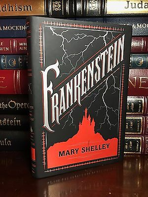 Frankenstein by Mary Shelley Brand New Leather Bound Gift Deluxe Collectible Ed.
