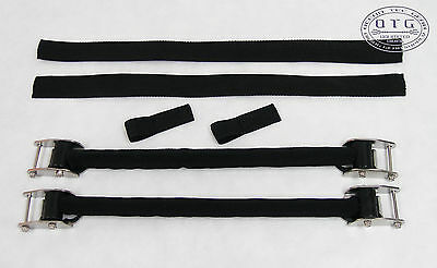 OTG Scuba Diving X-Large Size Stainless Steel Spring Fin Straps w/Buckle OG-33XL