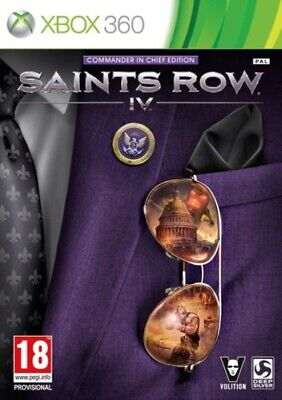 Saints Row IV: Commander in Chief Edition (Xbox 360) VideoGames