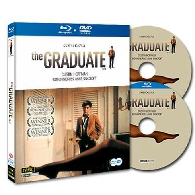 [Blu-ray+DVD] The Graduate (1967) Dustin Hoffman *Special Edition 2-Disc SET NEW