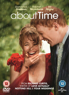 About Time DVD (2014) Domhnall Gleeson, Curtis (DIR) cert 12 Fast and FREE P & P