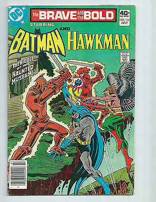Brave and the Bold #164 Batman and Hawkman DC 1980 FN- 5.5