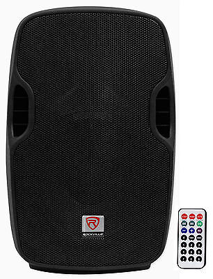 "Rockville BPA10 10"" Professional Powered Active 400w DJ PA Speaker w Bluetooth"