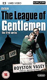 The League of Gentlemen  [UMD Mini for P DVD