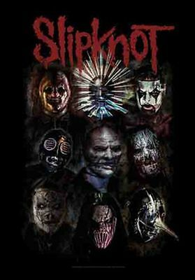 SLIPKNOT - FACES - FABRIC POSTER - 30x40 WALL HANGING 52173