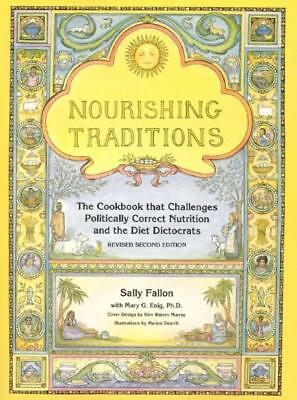 NEW Nourishing Traditions By Sally Fallon Paperback Free Shipping