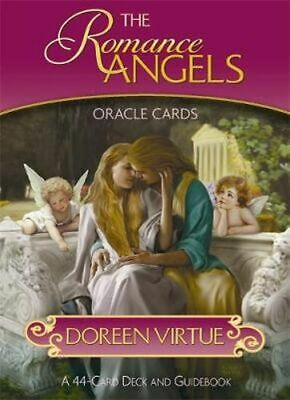 NEW The Romance Angels Oracle Cards By Doreen Virtue Free Shipping
