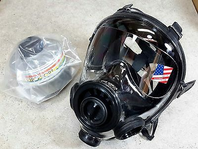 SGE 400/3 40mm NATO NBC Gas Mask w/ Mestel Filter ** ALL NIB ** MADE IN 2018 !!!