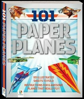 NEW 101 Paper Planes to Fly By Hinkler Books Activity Kit Free Shipping