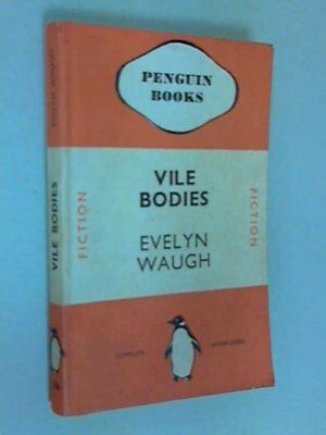Vile Bodies, Waugh, Evelyn Paperback Book The Cheap Fast Free Post