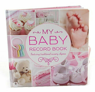 NEW My Baby Record Book Pink Record Book Free Shipping