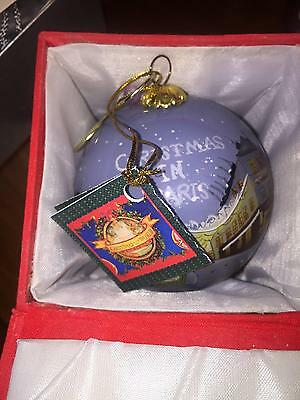Christmas Around The World Christmas In Paris Ornament Nib