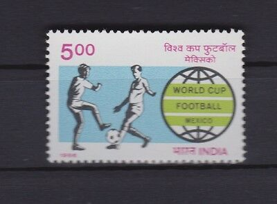 s6042) INDIA 1986 MNH** WC Football'86- CM Calcio 1v