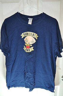 Family Guy Stewie t shirt large L born to be bad