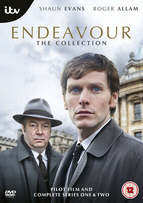 Endeavour: The Collection - Series 1 and 2 DVD (2014) Sam Reid cert 12 5 discs