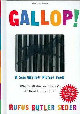 Gallop!: A Scanimation Picture Book (Scanimation Books) By Rufus Seder