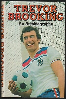 Trevor Brooking West Ham United 1967-1984 Original Hand Signed Autobiography