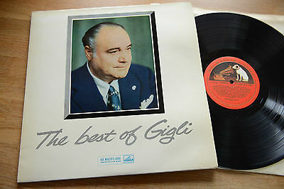 THE BEST OF GIGLI LP ALP 1681 made in UK