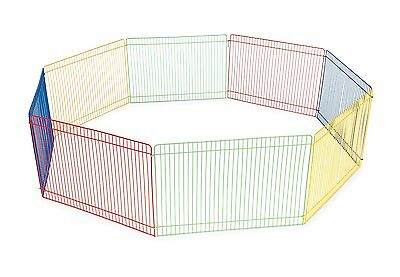 Prevue Pet Products Multi-Color Small Pet Playpen 40090 by Prevue Pet Products