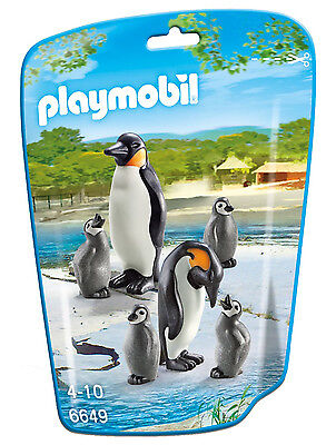 Playmobil - City Life - 6649 - Pinguinfamilie - NEU OVP