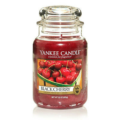 Yankee Candle Black Cherry Large Jar Scented Candle