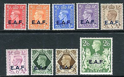 BRITISH OCCUPATION ITALIAN COLONIES SOMALIA-1943-46  MM set to 2/6 Sg 51-59