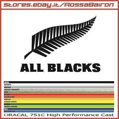 1 ADESIVO ALL BLACKS NEW ZEALAND RUGBY mm.150x105 -  STICKERS PEGATINA AUFKLEBER