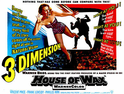 House of Wax Movie Poster Glossy Finish FIL907 MCPoster